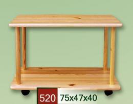 Servírovací stolek na koleèkách 520 - zvìtšit obrázek