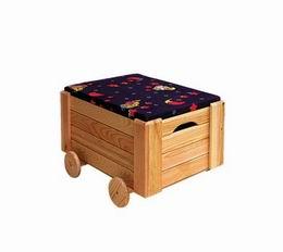 Døevìný box velký - zvìtšit obrázek