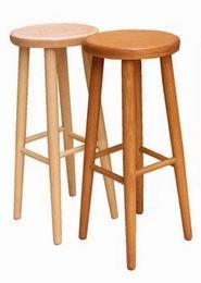 Døevìná stolièka barová buk è.2