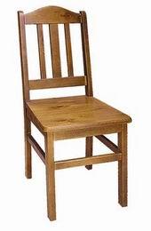 Døevìná židle masivní
