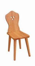Døevìná židle selská