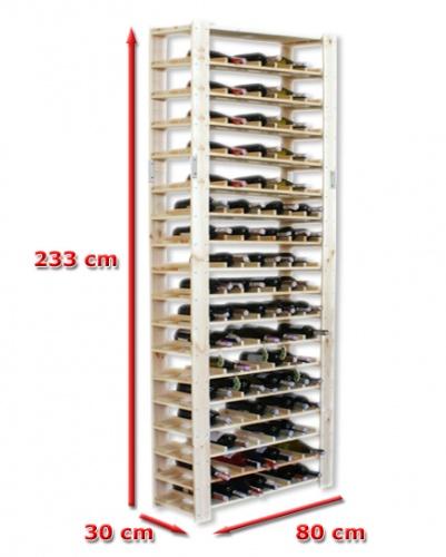 Regál na víno - maxi 4